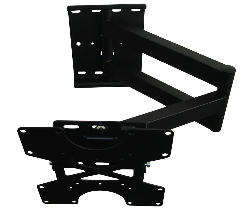 schwenkbar ausziehbar neigung tv wandhalterung led plasma lcd vesa 50 75 100 200 ebay. Black Bedroom Furniture Sets. Home Design Ideas